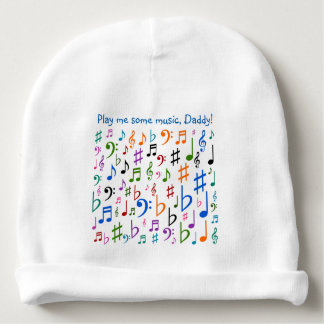 Play me some music, Daddy! Baby Beanie