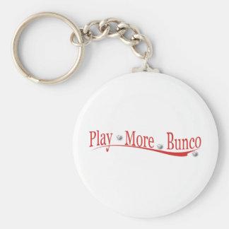 Play More Bunco Key Ring