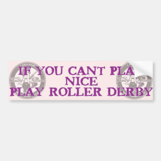 play nice bumper sticker