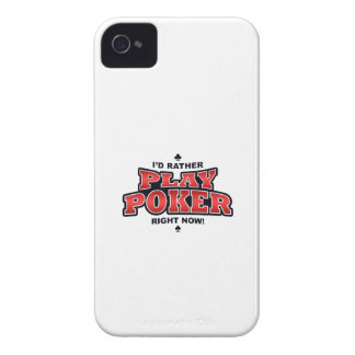 Play Poker iPhone 4/4S Case-Mate Barely There iPhone 4 Case-Mate Cases