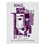 Play Poster For Romeo & Juliet William Shakespeare