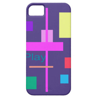 Play Prussian Blue iPhone 5 Case