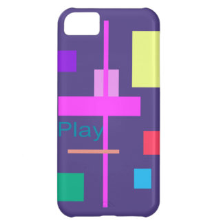 Play Prussian Blue Cover For iPhone 5C