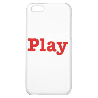 Play (red happy edition) iPhone 5C cases