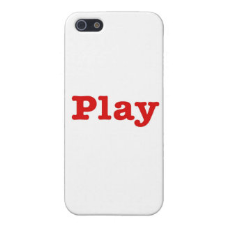 Play (red happy edition) iPhone 5 cases