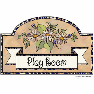 Play Room - Decorative Sign Acrylic Cut Outs