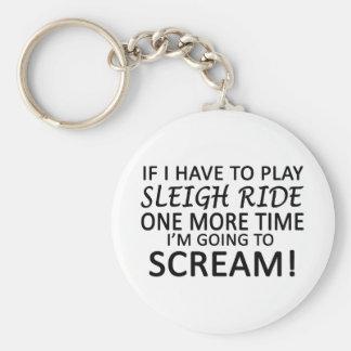 Play Sleigh Ride Key Chain