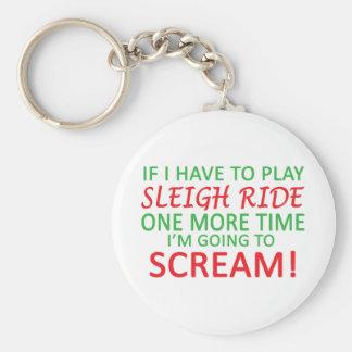 Play Sleigh Ride Keychain