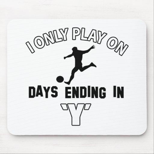Play soccer mousepad