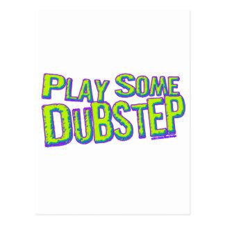 Play some DUBSTEP Postcard