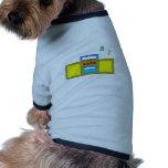 Play Song Radio Happy and Fun Dog Tee Shirt