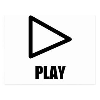 Play Symbol Postcard