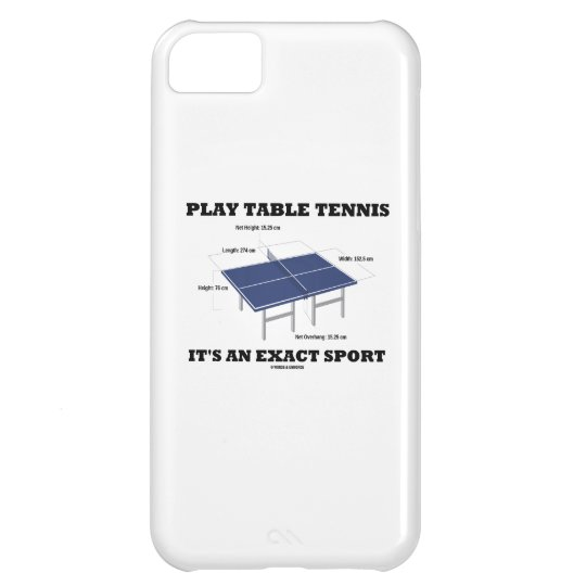Play Table Tennis It's An Exact Sport (Humour)