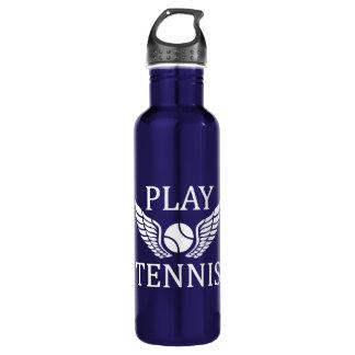 Play tennis 710 ml water bottle