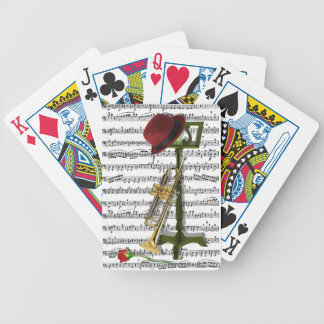 Play that music bicycle playing cards