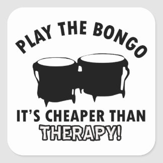 Play the   bongo stickers