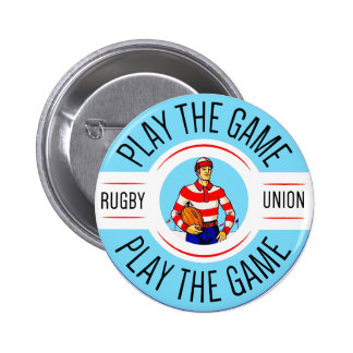 Play The Game Round Badge