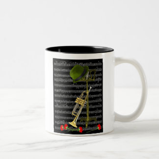 Play the Music... Two-Tone Coffee Mug