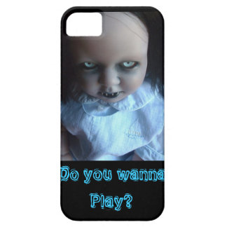 Play time Spooky Doll Phone Case iPhone 5 Cases