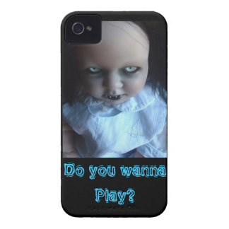 Play time Spooky Doll Phone Case iPhone 4 Case-Mate Cases
