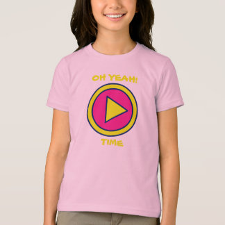 Play Time Tee Yellow/Pink