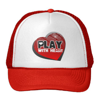 Play With Heart Sports Hat