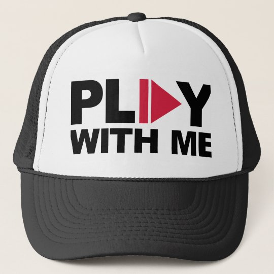 Play with me music cap