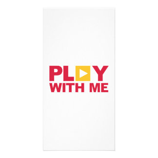 Play with me music picture card