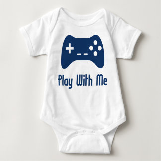 Play With Me Video Game Tees