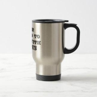 Play with trains travel mug