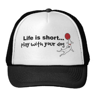 Play with Your Dog Cap