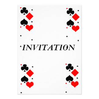 PLAY YA CARDS RIGHT CUSTOM INVITE