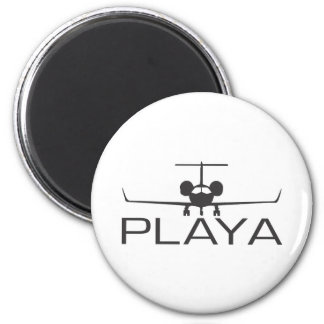 Playa 6 Cm Round Magnet
