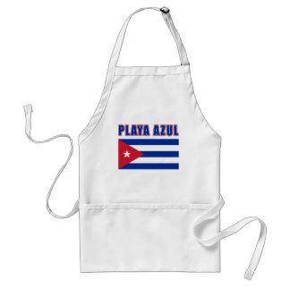 PLAYA AZUL Cuba Beach Tshirts, Gifts Standard Apron