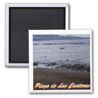 Playa de Las Canteras Refrigerator Magnets