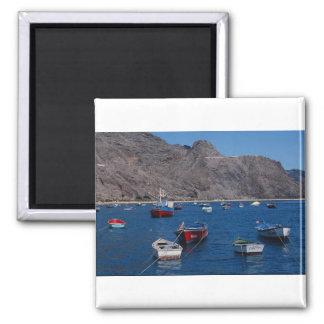 Playa de Las Teresitas, San Andres, Tenerife, Cana Refrigerator Magnets