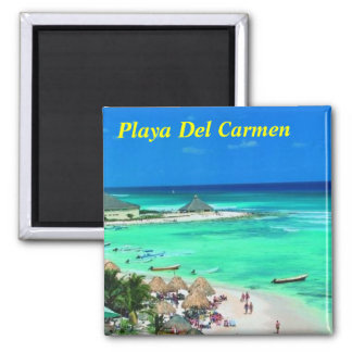 Playa Del Carmen fridge magnet