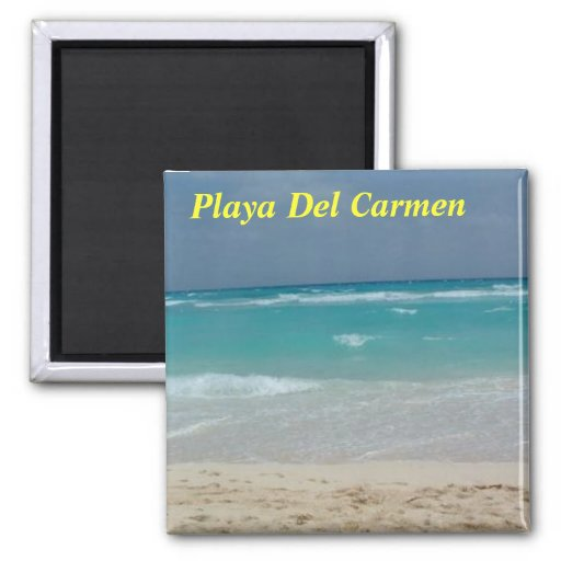 Playa Del Carmen kitchen magnet