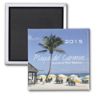 Playa del Carmen Mexico Beach Magnet Change Year