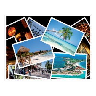 Playa del Carmen - Postal card Postcard