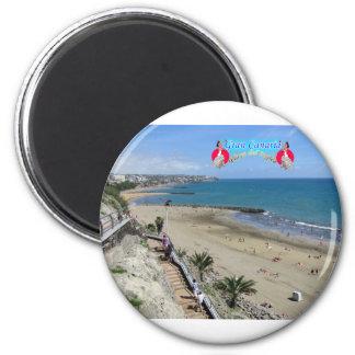 Playa del Ingles 6 Cm Round Magnet