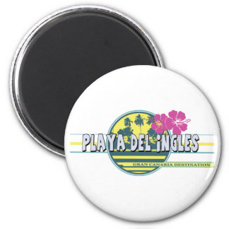 Playa del Ingles GC destination 6 Cm Round Magnet