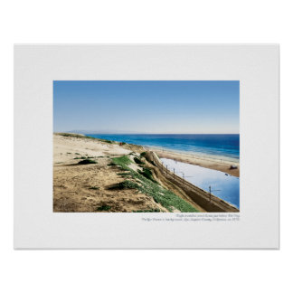 Playa del Rey Lagoon, 1904 - Southerly View Poster