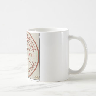Playa del Rey Post Office 1904 Rubber Stamp Classic White Coffee Mug