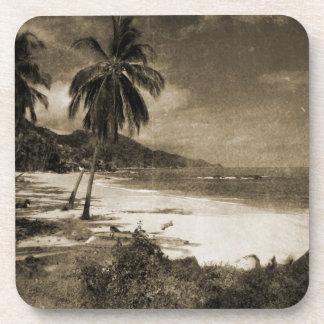 Playa Los Caballos Antique Coasters