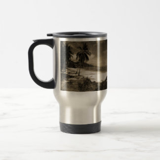 Playa Los Caballos Antique Coffee Mug