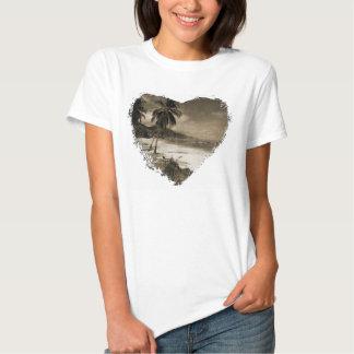 Playa Los Caballos Antique Tee Shirt