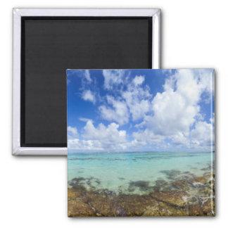Playa Maguana, Guantanamo, Baracoa | Cuba Square Magnet