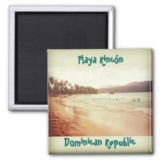 Playa Rincón - Samaná, DR Square Magnet