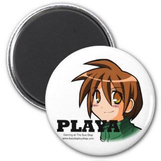 Playa Wear 6 Cm Round Magnet